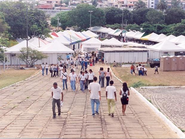 Ciente acontece no Campus Central da UFRN, em Natal (Foto: Fernando Pereira)
