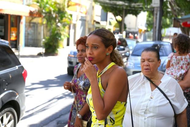 Festa da Maria Antônia de 1 ano - Taís Araújo (Foto: AgNews)