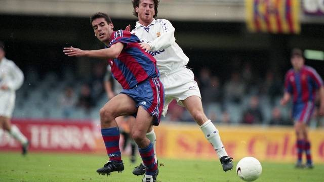 Real Madrid B x Barcelona B na temporada 1997/98 (Foto: Divulgação / Site oficial do Barcelona)