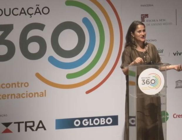 Kiran Sethi no Educação 360 (Foto: Divulgação)