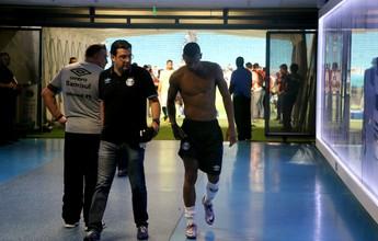 Com lesão no joelho, Walace para  por 30 dias e desfalca o Grêmio