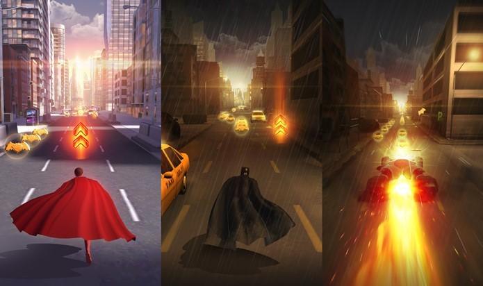 Batman e Superman vão se enfrentar (ou quase) neste jogo para celular (Foto: Divulgação / Warner)