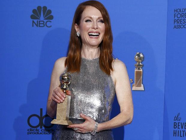 Julianne Moore venceu o Globo de Ouro de melhor atriz dramática por 'Still Alice'. (Foto: REUTERS/Mike Blake)