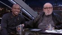 Jô e Thiaguinho fazem convite para telespectadores da TV Fronteira (Reprodução Globo)