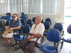 Agência  do INSS deve retornar o atendimento ao público na terça-feira (29) (Foto: Juliane Peixinho / G1)