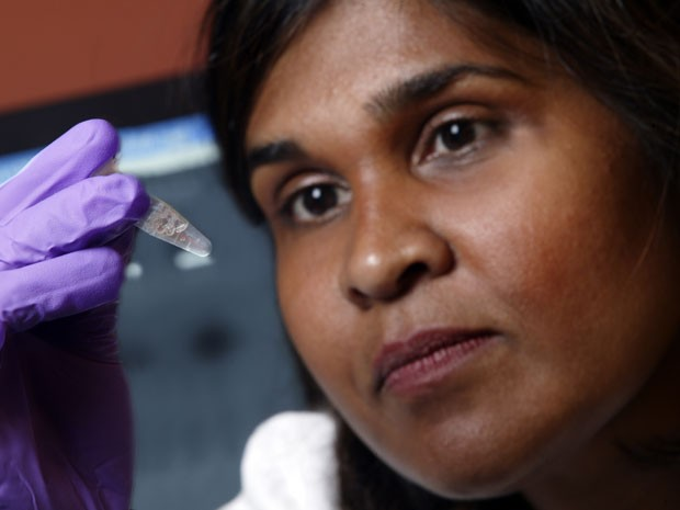A virologista Deborah Persaud, da Johns Hopkins (Foto: AP Photo/Johns Hopkins Medicine)