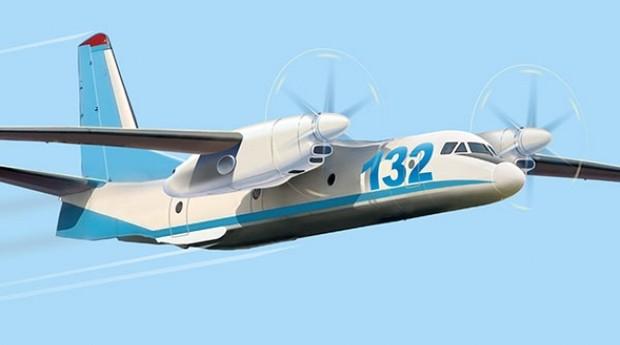 Antonov 132 D é um dos destaques da feira (Foto: Divulgação)