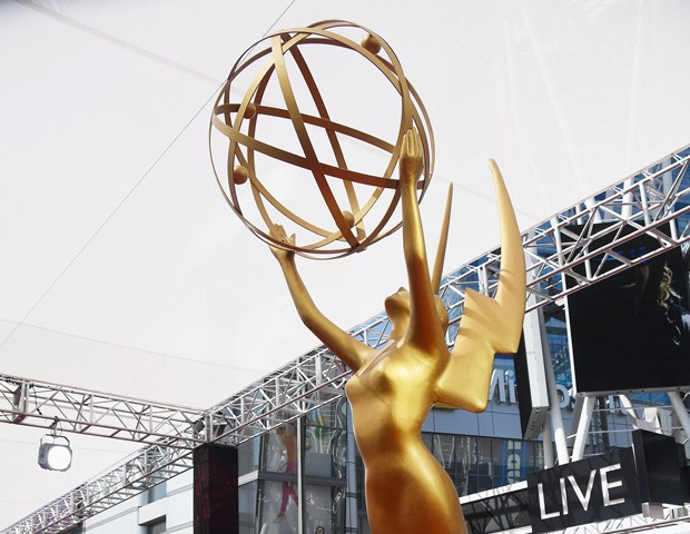 Tapete do Emmy 2016, no Microsoft Theater, em Los Angeles (Foto: Getty Images)