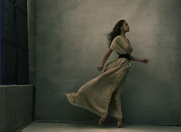 A bailarina americana Misty Copeland, em 2015. (Foto: Divulgação: Annie Lebovitz / Women: New Portraits)