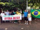 Avaré, na região de Itapetininga, realiza protesto contra o governo
