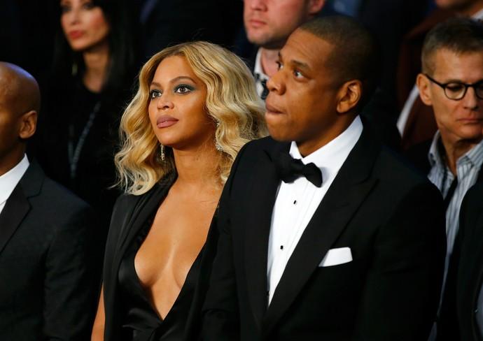 Decote de Beyoncé rouba a cena em luta de Canelo e Cotto (Foto: Getty Images)