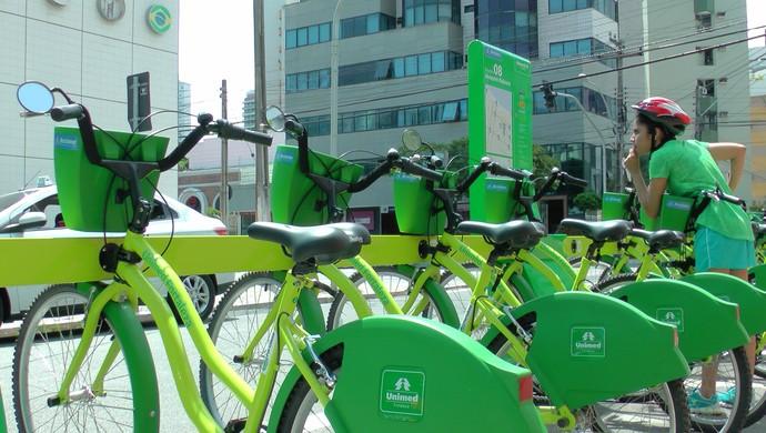 Bicicletas compartilhadas, Fortaleza  (Foto: Sebastião Mota)