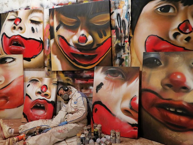Atelier do artista Nilo Zack, no bairro Taquaril, na Região Leste de Belo Horizonte (Foto: Nilo Zack/ Arquivo pessoal)