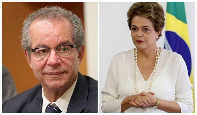 José Aníbal e Dilma Rousseff (Foto: Arquivo Google)