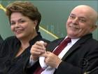 Lula recebe homenagens em cerimônia de posse de ministros