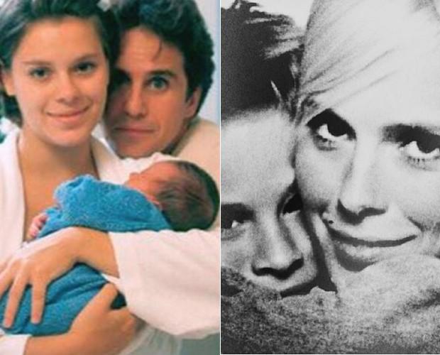 Carolina Dieckmann, Davi e Marcos Frota (Foto: Reprodução / Instagram)