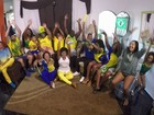 Visite uma família do Rio que é retrato verdadeiro da nossa paixão pela Copa