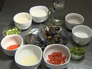 Guaiamum faz parte da culinária típica nordestina (Foto: Reprodução / Tv Sergipe)