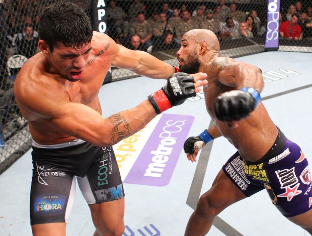 Ronny Markes x Yoel Romero UFC MMA (Foto: Getty Images)