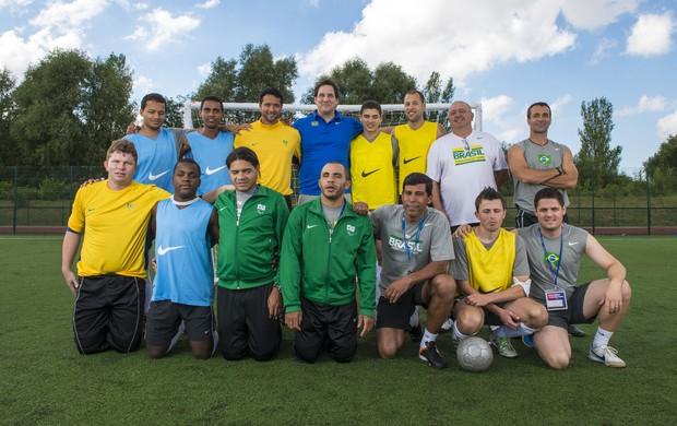 Seleção brasileira de futebol de 5 é invicta em Paralimpíadas (Foto: Divulgação)
