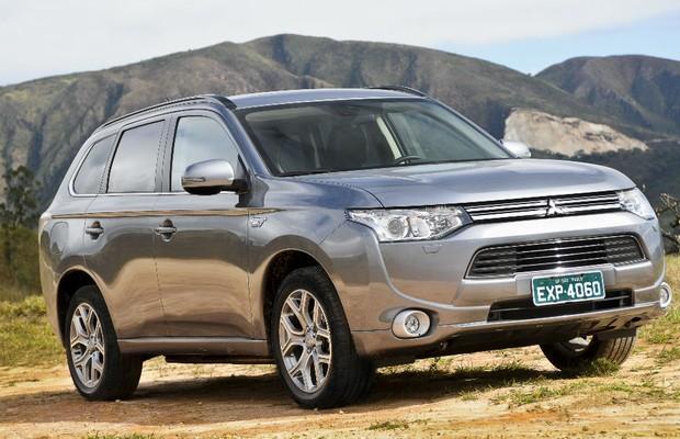Primeira volta: avaliamos o híbrido Mitsubishi Outlander PHEV - AUTO ESPORTE | Análises
