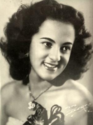 A bela cantora conquistou o público (Foto: Mione Amorim/Arquivo Pessoal)