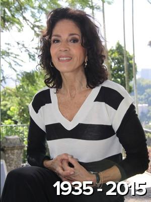 Morre atriz Yoná Magalhães, aos 80; ela tratava de problemas no coração (Isac Luz/TV Globo/Arquivo)