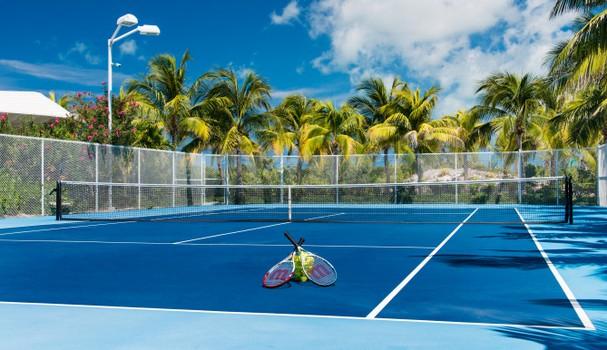 Quadra de tênis (Foto: Divulgação)