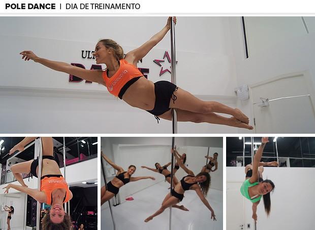 pole dance treinamento 2 (Foto: Amanda Kestelman)