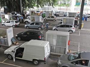 Vistoria itinerante traz mais comodidade aos motoristas (Foto: Marcelo Horn/Divulgação)