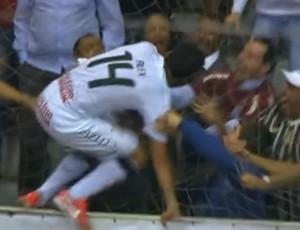 FRAME - Alex Corinthians AABB final Liga Paulista (Foto: Reprodução SporTV)