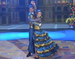 A dupla mostrou sintonia e caprichou no carão (Foto: Camila Cerejo/Gshow)