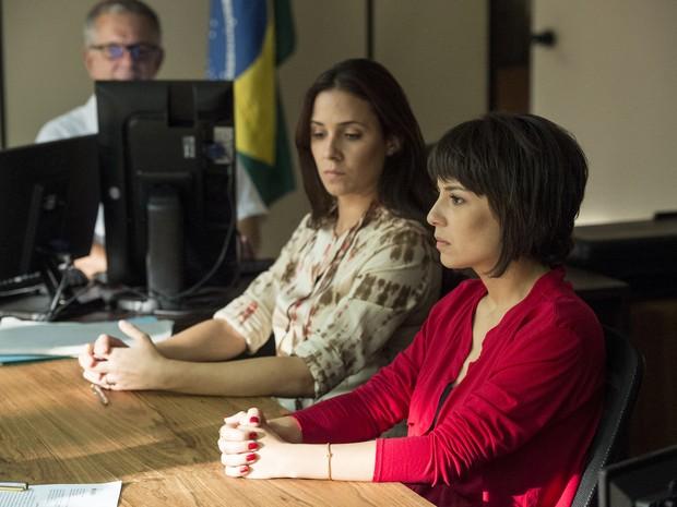 Andrea Horta está no elenco do episódio deste domingo de 'Segredos de Justiça' (Foto: Globo/Raquel Cunha)