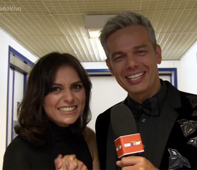 Monica contou sobre a vida pessoal e profissional (Foto: Tv Globo)
