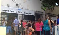 Vacinação da H1N1 é retomada em Salvador (Juliana Almirante/ G1 Bahia)