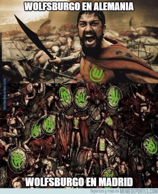 Meme Real x Wolfsburg