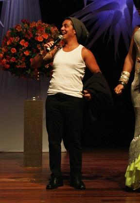 Thammy Miranda em prêmio em São Paulo (Foto: Celso Tavares/ EGO)