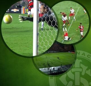 Pacotão Inter x Flamengo (Foto: Arte / GloboEsporte.com)