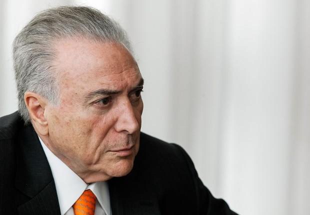 O presidente Michel Temer reúne-se com governadores (Foto: Marcos Correa/PR)