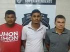 Polícia prende suspeitos de participar de assalto em Nova Olinda do MA
