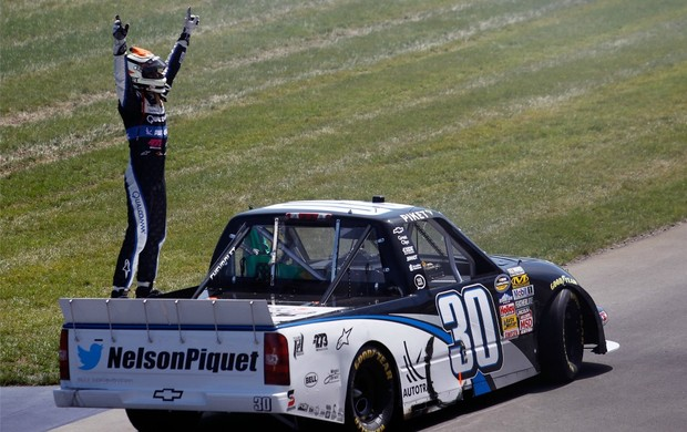 Nascar Nelsinho Piquet em Michigan (Foto: Getty Images)