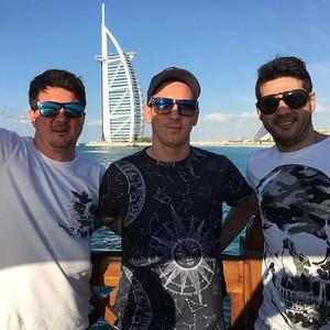 Messi aproveita para passear em Dubai (Foto: Instagram)