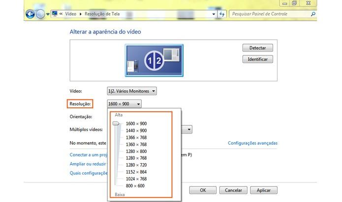 Ajuste as configurações pelo computador (Foto: Reprodução/Barbara Mannara)