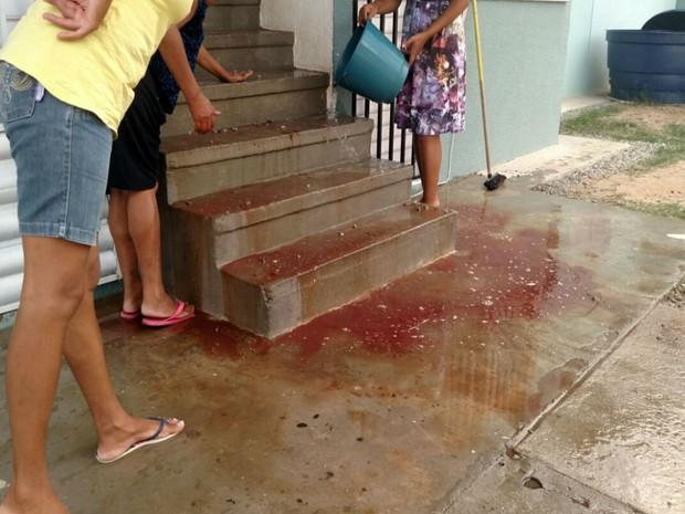 Adolescente sofreu tentativa de homicídio por dívida de R$ 20,00 em Jacobina (Foto: Augusto Urgente )