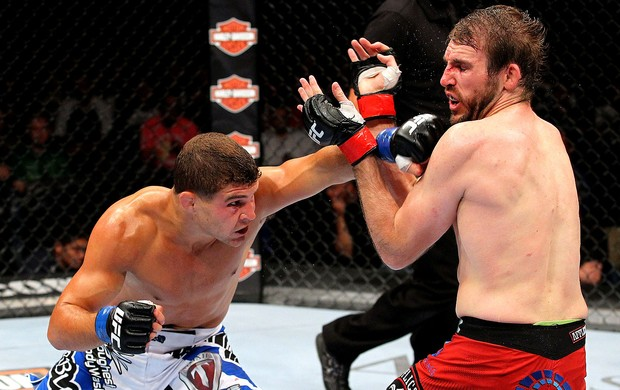 UFC Ryan Couture e Al Iaquinta (Foto: Agência Getty Images)