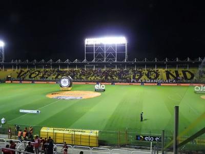 Flamengo x confiança (Foto: Fred Gomes)
