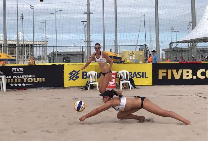 Sarah Pavan e Melissa Humana-Paredes - Vôlei de Praia (Foto: Gabriel Fricke)