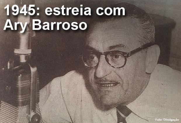 A estreia do Brasil no Oscar ocorreu em 1945, com Ary Barroso (Foto: Divulgação)