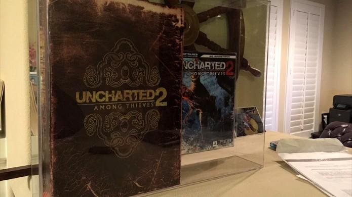 Fortune Hunter Edition de Uncharted 2: Among Thieves vai a leilão por mais de R$ 125 mil (Foto: Reprodução)