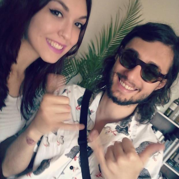 Lelly Costa e Pedro Falcão (Foto: Reprodução/Instagram)